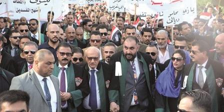 تصویر از کانون وکلای عراق؛ حضور در صحنه تحولات اجتماعی