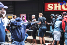 خشونت پلیس آفریقای جنوبی