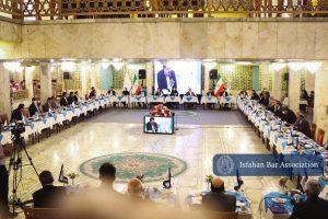 دهمین اجلاس روسای کانون های وکلای دادگستری در اصفهان