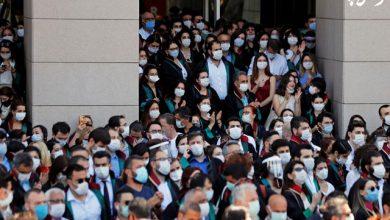 اعتراض وکلای ترکیه