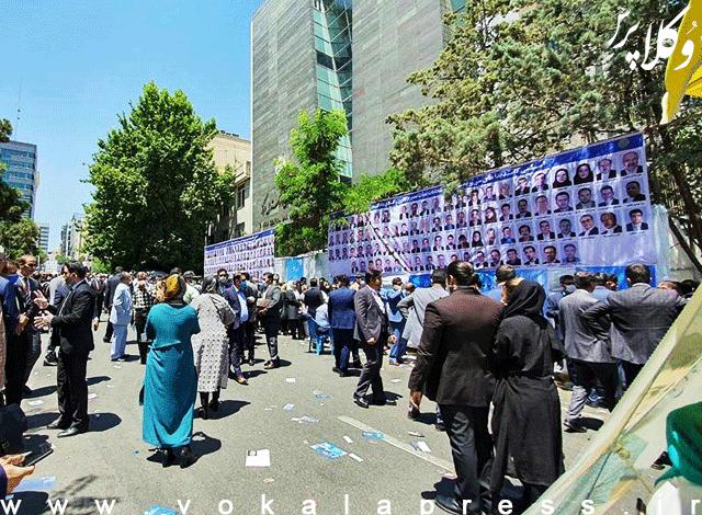 تخلفات انتخاباتی نامزدهای کانون وکلای مرکز
