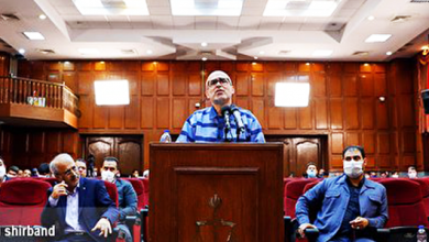 Photo of جلسه ششم دادگاه اکبر طبری