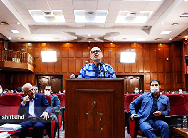 جلسه ششم دادگاه اکبر طبری