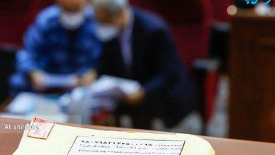 تصویر از جلسه سیزدهم دادگاه اکبر طبری