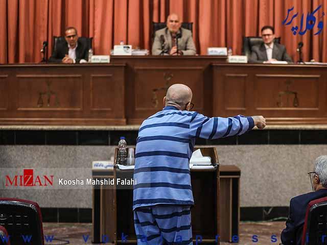 دوازدهمین جلسه دادگاه اکبر طبری و رسیدگی به اتهامات وکیل مهدی زاهدیان