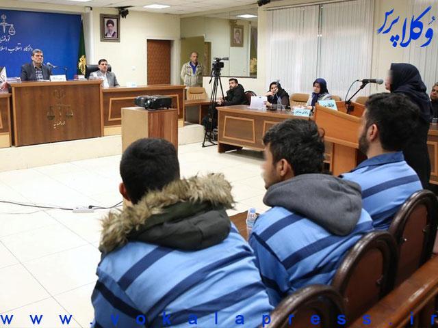 پذیرش درخواست اعاده دادرسی سه جوان محکوم به اعدام آبان ۹۸