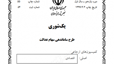 Photo of متن طرح ساماندهی سهام عدالت