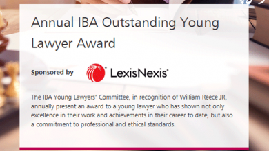 Photo of جایزه « وکیل ممتاز جوان » کانون وکلای بین المللی