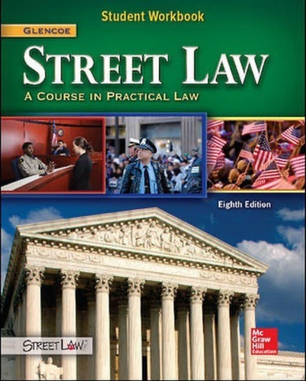 کتاب کار دانشجویی با نام street law