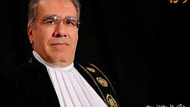 دکتر علی مندنی پور رییس کانون وکلای دادگستری فارس