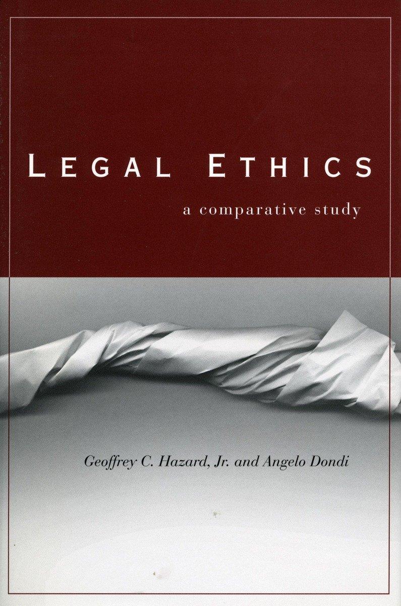 کتاب تازه ترجمه شده LEGAL ETHICS