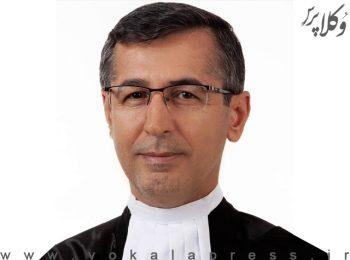 گفتگوی دکتر سید کاظم حسینی عضو هیات مدیره کانون وکلای دادگستری مرکز