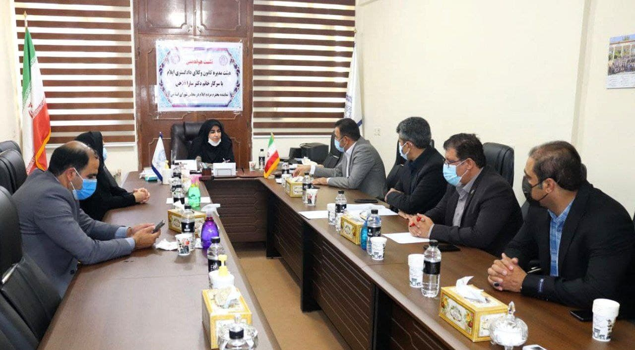 دیدار هیأت مدیره کانون وکلای ایلام با نماینده ایلام در مجلس شورای اسلامی