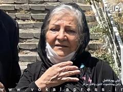 گیتی پورفاضل: مرخصیام فردا پایان مییابد/ وکیلم درخواست تمدید مرخصی داده است