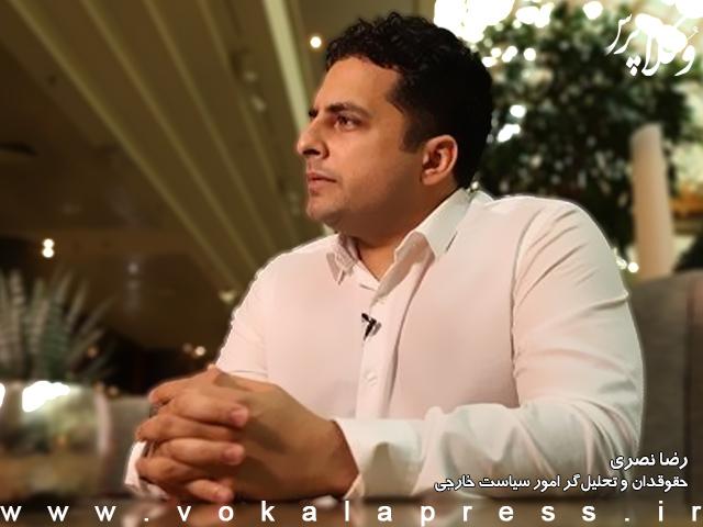 انتقاد رضا نصری از تحریف اظهارات ظریف درباره لغت تعلیق در سند برجام