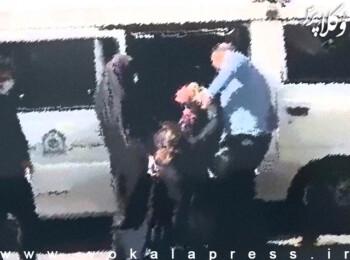 واکنش کمیسیون حقوق بشر کانون وکلای مرکز به انتشار تصویر برخورد خشن ضابطین با یک شهروند زن در تهران